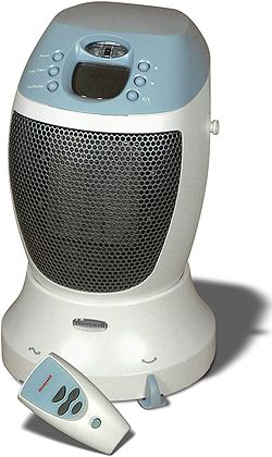 Honeywell Hz365 Sureset Oscillating Ceramic Heater